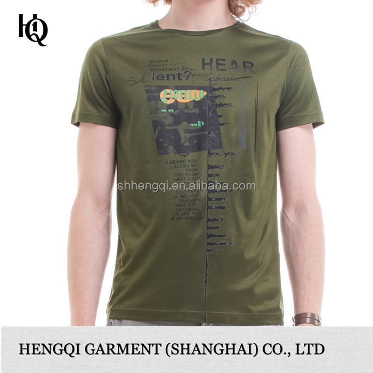 High end wholesale custom all over print cotton t shirt for High end men s shirts