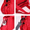 China Factory supply red Nylon bag travel for women shoulder bag for outdoor