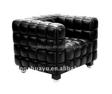 Joseph Hoffman Kubus sofa 1 seat, Joseph Hoffman Kubus sofa armchair