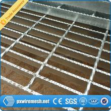 steel bar steel grating,platform floor galvanized welded floor anti-slip grating, serrated design