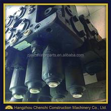 pc350-8 main control valve excavator hydraulic parts main valve, high quality excavator main valve