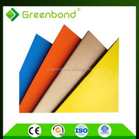 Greenbond aluminum composite panel 4mm with excellent for ceiling decorative