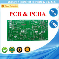 one-stop service PCB factory/PCB gerber file design and pcb assembly/hot sales keyboard PCB assaembly