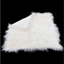 Lamb plate / Tibet Sheep Skin/Mongolian Dyeing Sheep Fur Plates