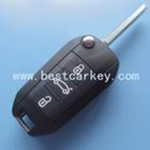 3 button fake car remote key with 434 MHz for peugeot key peugeot 508 key