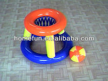 2013 new inflatble pvc / tpu cheaper mini model basketball stands for baby from shenzhen wholesale