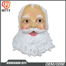 2015 Newest High Quality Halloween Eco-friendly old man full head latex mask Santa Clause Latex mask for Christmas