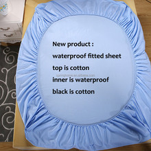 100 cotton jersey knit fabric for waterproof bedspread protector
