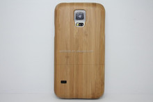 New Arrival Anti-shock Bamboo Wooden Case for Samsung Galaxy S5 I9600 Wood Case Paypal Accepted