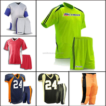 Printing sublimation sportswear soccer uniforms team set football 2015 customized soccer jersey