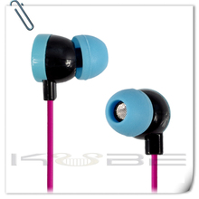 2015 Top 10 Super High Quality beautiful stereo earphone for girls
