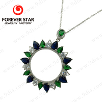 New Style 925 sterling silver jewelry necklace fashion new silver pendant necklace