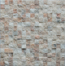 textured Sunset Glow Red Fracture surface stone mosaic tile for hot selling