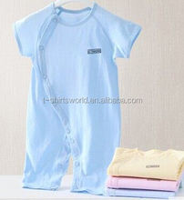 2015 new style of cotton baby creeper in short sleeve