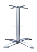 outdoor morden decorative metal coffee table legs base only