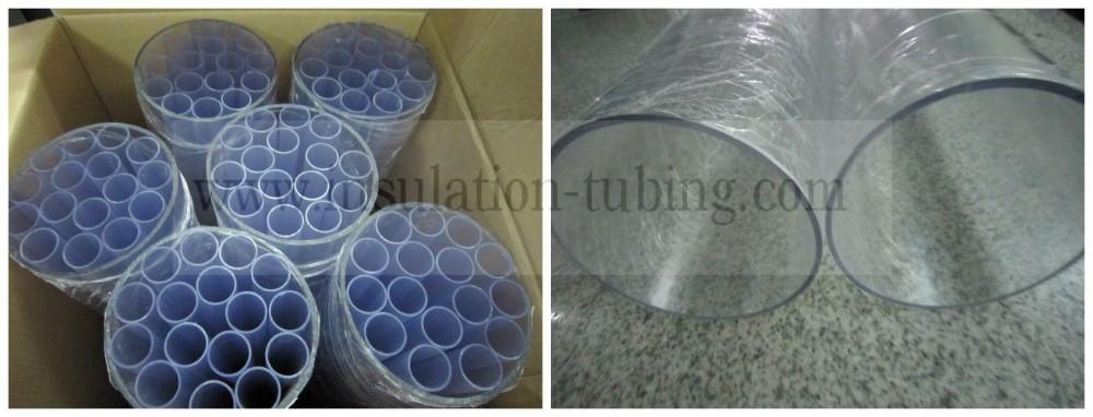 Food grade Water Drainage Customized Transparent PVC Rigid Pipe