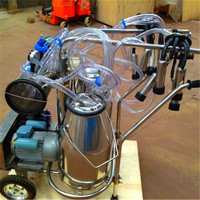 Small Milking Machine for Goats
