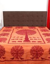 India hoja de cama, patchwork hoja de cama, de algodón hoja de cama