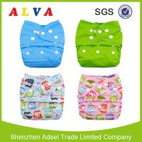 ALVA Reusable Baby Diaper Manufacturers in China , Animal Print Diaper , Baby Diapers at Wholesale Prices