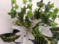 High quality Silk Tiger lily Bouquet artificial decorative flower bouquet silk garland