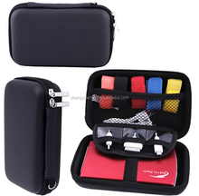 Wholesale portable Multifunctional electronics accessories travel organizer/GPS/Cable Stable/Hard drive case