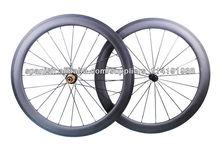Año Wattanty 1, Stock, Miracle 700C de la bicicleta ruedas del carbón de 56m m del camino del carbón