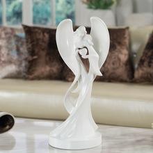 Resin Virgin Mary figure resin Angel ornament wedding favors gifts