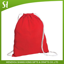 Low Price cotton Drawstring Bag/cute drawstring backpack/personalized drawstring bags for kids