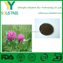 Favorable price best quality Red Clover Extract(Total Isoflavones ) in bulk supply, free sample for initial trial
