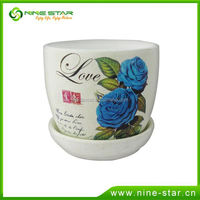 Professional Factory Cheap Wholesale OEM Quality cup and saucer flower pot from direct manufacturer