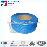Blue Color Waterproof Material Self Adhesive Fiberglass Mesh Tape,High Adhensive Fiberglass Scrim Tapes