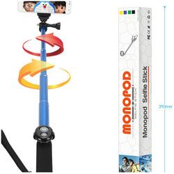 Photo selfie stick Light-weight legoo selfie monopod trap