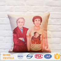 Houseware Creative Character Pattern Printed Custom Pillow Case Sofa Cushions Covers Modern House