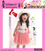 Cute Wholesale Sweet Girl Dress Lace Gauze Manufacture Baby Girls Summer Dresses