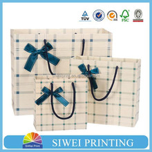 customized gift package bags recycle wholesale