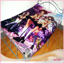 Polyester Digtal Printing Anime Cartoon Bed Sheet