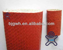 fiberglass sleeve with heavy silicone rubber