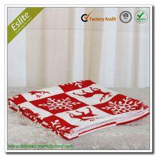Hot Sale Christmas Pattern 50 x 60 Fleece Blanket Price