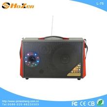 subwoofer for pc led tv speakers rechargable trolley speaker
