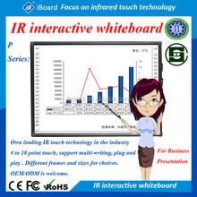 "High Stability Portable Usb Interactive Whiteboard For Schools/office Support 60""-150"""