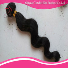 Hot selling double weft natural color body wave best selling products