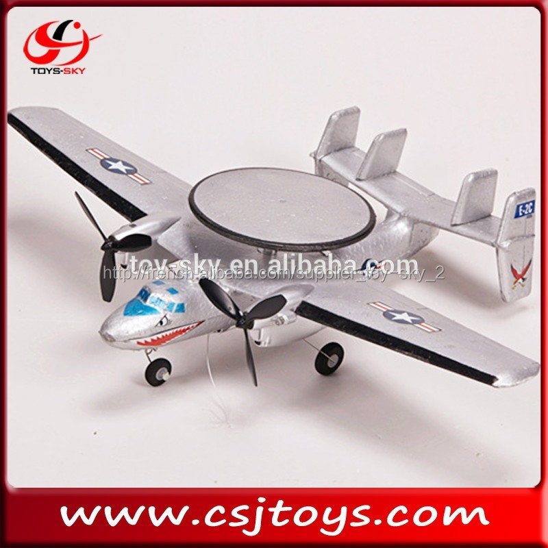 Hot vente 2ch avion rc jet awacs falcon e-2 jet avion modèle de moteur