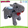 AT0616 safari plush animals funny moving animations horse rides toys