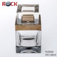 CE/ISO 12 years manufacturer 68ml perfume bottle name for perfume bottle
