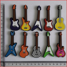3d rubber fridge magnet/musical instrument shape fridge magnet