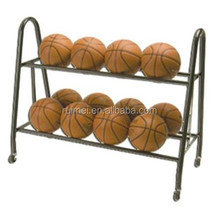 floor standing customized portable basketball stand