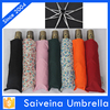 china manufacturer promotional folding rain umbrella with copper handle