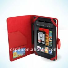 for Amazon Kindle fire PU Leather Case cover with Interior Compartment