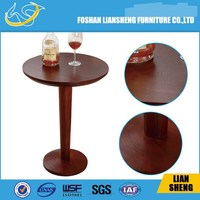 mdf round wood center table solid beech wood coffee table modern white side table for living room