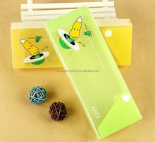 translucent plastic pencil case,plastic pencil box